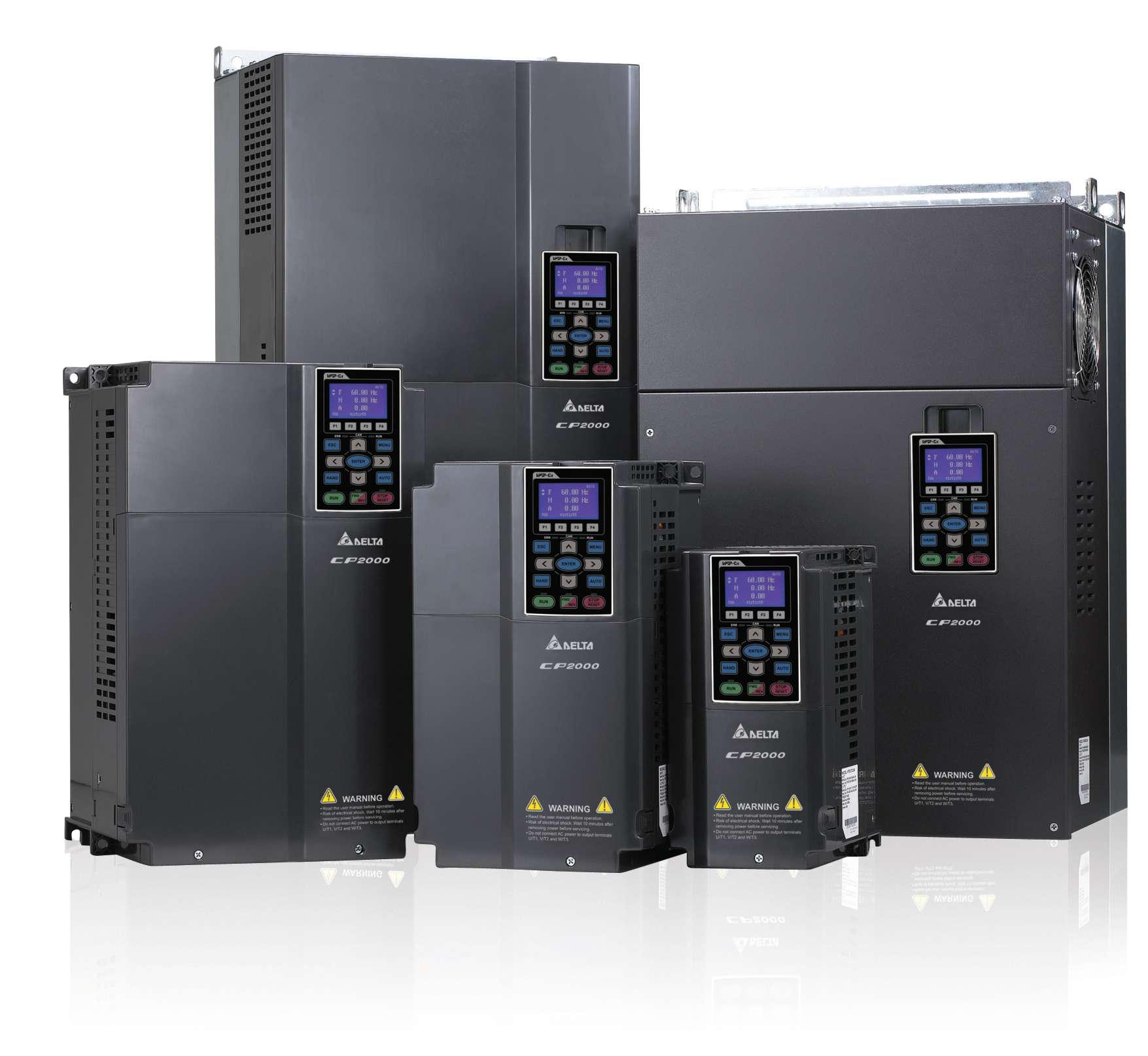 vfd-cp2000系列 无感测矢量控制型台达变频器vfd1100cp43a-21